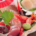 料理メニュー写真お造り盛り合わせ(五種)