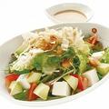 料理メニュー写真豆腐とアボカドのサラダ