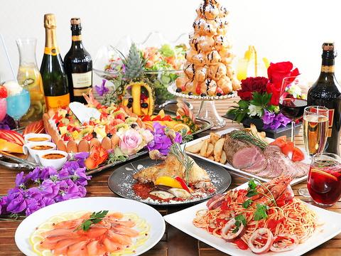 結婚式・大型パーティーなら【コレカラ】におまかせ♪宴会は最大80名までOK!