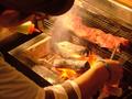 料理メニュー写真牛ハラミの極上炭火焼き