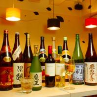 【おいしい焼き鳥・串焼きと共に味わう種類豊富なお酒】
