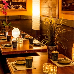 ◆少人数個室席◆目の前で調理をご覧いただけます。上野での仕事帰りのサク飲みなど気軽にご利用頂けます。少人数からでも◎8名席などもございます。