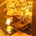 座敷にも仕切りを設置♪半個室の空間で少人数宴会にも対応☆2~17名様まで。