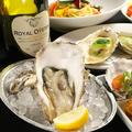 料理メニュー写真本日の生牡蠣