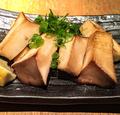 料理メニュー写真新潟産大きなエリンギのバター醤油炒め