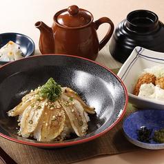 炙りのどぐろ飯と牡蠣フライ御膳