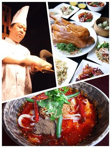 有名五ツ星ホテルの総料理長を務めた特級料理師の手による西安料理を堪能!