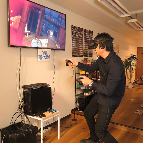 VRゲームバー京都