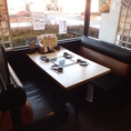 4名様向けのテーブル席
