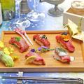 料理メニュー写真【名物】A5ランク 肉寿司