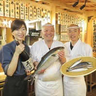 美味しいお寿司と楽しい時間を提供いたします♪