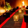 ◆大宴会個室◆和風の内装が包み込む至福の個室空間。掘り炬燵個室ならお勤め先での二次会,飲み会,同窓会,誕生日のお祝いにもゆっくりお寛ぎ頂けます◎旬食材をふんだんに使用した創作和食と厳選地酒をぜひ一緒にご堪能下さいませ。
