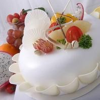 誕生日・記念日に♪シェフ特製デザートプレゼント◎