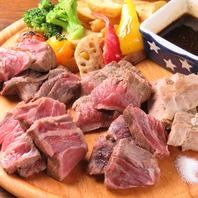 鉄板肉料理がウリ!しっかりがっつり肉食系!