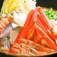 食べ放題に+500円で【海鮮鍋】or【海鮮チゲ鍋】付に♪宴会にもってこい!※前日迄に要予約!