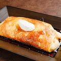 料理メニュー写真鉄板スフレオムレツ、トリュフ風味