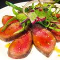 料理メニュー写真厚切り牛タンのステーキ