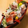料理メニュー写真【おすすめ】熊NO庭名物!海鮮10点船盛