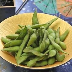 料理メニュー写真国産茶豆の塩ゆで