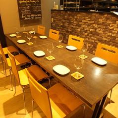 ≪ご宴会に…♪≫人数に合わせてレイアウト変更可能なテーブル席をご用意しております!ワイワイ騒ぎたい方にピッタリです!