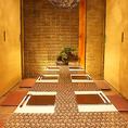浜松駅近辺での接待や宴会などに最適のプライベート個室空間♪合コンや女子会・誕生日会にもオススメです!シンプルなお席はお仕事帰りにゆったりとお酒を愉しみたい方にオススメです◎