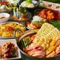 定番の韓国料理から今流行りの火鍋まで幅広く取り揃えております!唐辛子に含まれるカプサイシンには、脂肪の燃焼を助けたり、美容効果もあると言われております。辛いものを食べて元気に乗り越えましょう!飲放付コース⇒2980円~(池袋 韓国料理 火鍋 チーズ チキン チャミスル 食べ放題 飲み放題 貸切 女子会 誕生日)