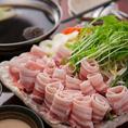 国産黒豚3時間飲み放題コース4000円(税抜)♪上質なお肉を使用しております。心ゆくまでご堪能くださいませ。
