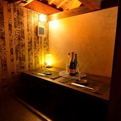 デートや記念日に最適なカップルシート♪お二人だけのプラーベートな空間でお楽しみ下さい!