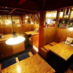【禁煙】4名掛けボックス席は4卓ご用意◎隠れ家のような雰囲気が楽しいお席です◎女子会やデートにもオススメです♪