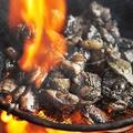 料理メニュー写真天草大王炭火もも焼き