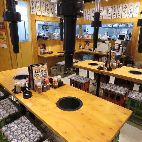 秩父焼肉ホルモン酒場 まる助 大宮一番街店|店舗イメージ5