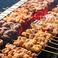 【焼とん】豚バラ/白もつ/豚ハラミ/黒豚味噌漬/熟成ウインナー/豚足