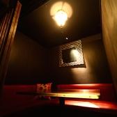 2名様~4名様対応のBOXソファー個室1少人数でまったりと楽しみたい方にオススメです!