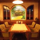 4名テーブル席×4