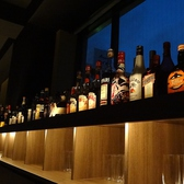 夜景を眺めながら大人のデートを・・・★ドリンクもカクテル・ウィスキー・ワインと、種類も豊富に品揃えております。