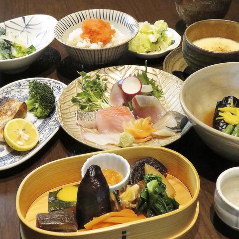 【旬の海鮮を余すことなく味わう】お造りや八寸、絶品茶碗蒸しなど《全8品》味彩コース7000円