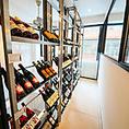 赤・白共に充実の品揃え!世界中のワイン50種類が飲み放題!様々なワインを飲み比べてみるのも◎お食事とご一緒に心ゆくまでお楽しみください♪