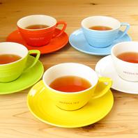 ≪モアティー≫スタッフが定期的に紅茶を淹れに参ります