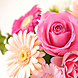 歓迎会や送別会などの歓送迎会には色鮮やかな花束無料