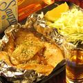 料理メニュー写真トントロ塩焼き