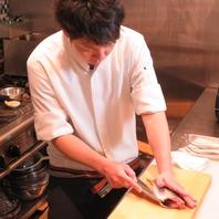 【石川県の有名店で修行を積んだ店主が奏でる料理】