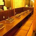 周りを気にせずにゆっくり楽しめる個室は、仕切りを外すと23名までのお座敷宴会が可能!!