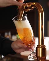 クラフトビールを含む生ビールは、3種ご用意