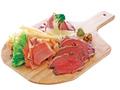 料理メニュー写真肉の三点盛り