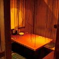 掘りごたつ個室も充実で幹事さんも安心!飲み放題付コースは3000円~で宴会におすすめです★
