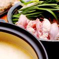 鶏がらスープはお鍋にもできますよ!