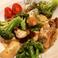 牡蠣とブロッコリーのバルサミコソテー