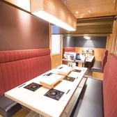 6人掛けソファーテーブル個室。お子様連れのお客様やご家族で!ゆったりと過ごせるソファー席をご用意しています。