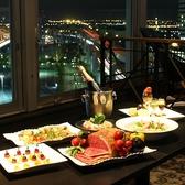 「大人の空間」で夜景とディナーを贅沢に楽しむ