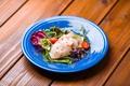 料理メニュー写真メカジキのスモーク カルパッチョ